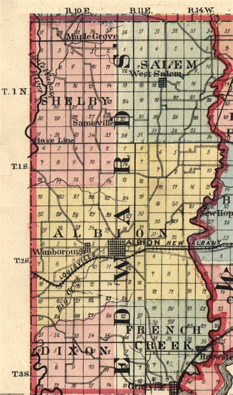 edwards county illinois maps and gazetteers