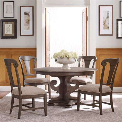 kincaid dining room set kincaid furniture greyson five piece dining set with grant