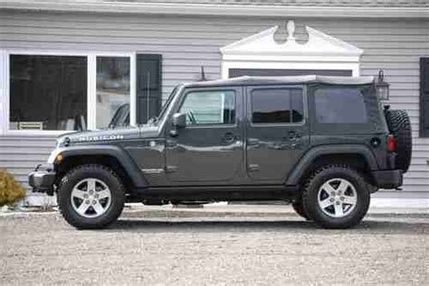 used jeep rubicon 4 door sell used 2010 jeep wrangler unlimited rubicon sport