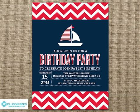 party boat online free best 25 nautical birthday invitations ideas on pinterest