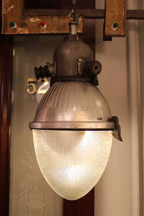 street light l shade 1950s converted industrial quot egg quot street light chandelier