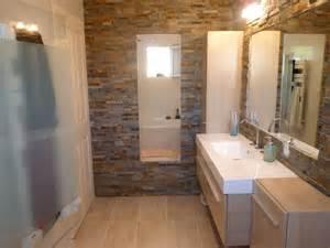 salle de bain parement fa 231 on briques meubles