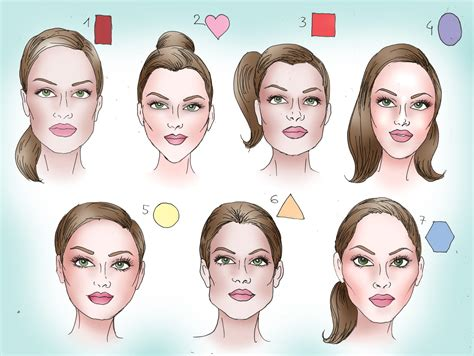 hair styles for head shapes best hairstyle according to face shape female fashion exprez