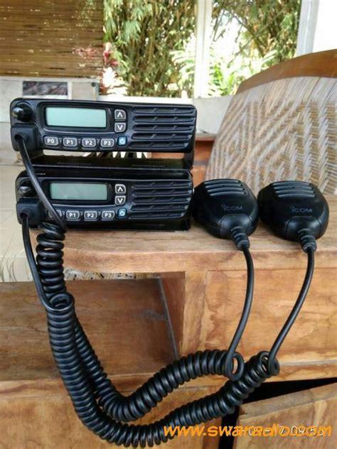 Channel Harga Sepasang dijual sepasang radio icom ic f6123 uhf 45watt bekas perusahaan swaradio