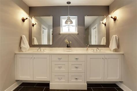 Bathroom Vanity Makeover Ideas grey quartz bathroom countertop design ideas
