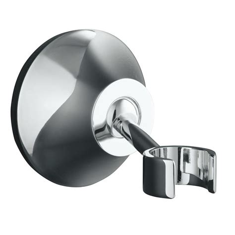 Shower Wall Mount kohler forte adjustable wall mount bracket in polished