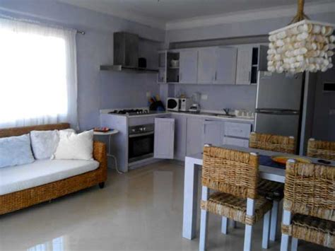 divano in cucina las palmeras residence appartamento numero 18 vista mare
