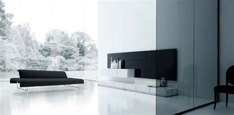 Living Room: Exquisite Picture Of Black And White Living