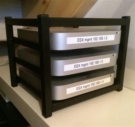 Mini Rack A Killer Custom Apple Mac Mini Setup Running Vsan