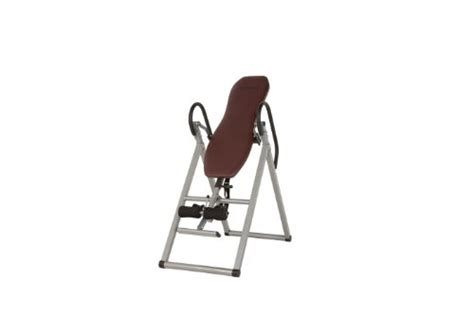 exerpeutic inversion table with comfort foam backrest inversion table exercises a video series tutorial