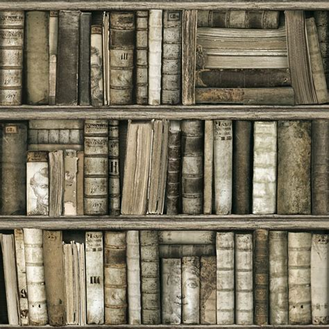 Tapisserie Bibliotheque papier peint biblioth 232 que antique koziel fr