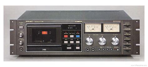 teac cassette deck teac c 3x manual stereo cassette deck hifi engine