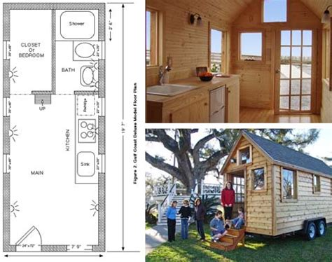tiny portable home plans small portable house to go small houses travel trailers