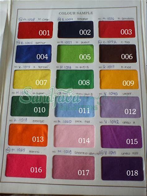 Kain Tenun Baron 3 Warna 8 katalog warna kain kaos pe polyester sandjava collections