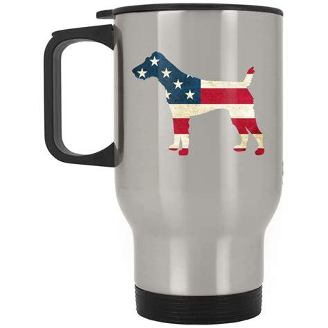 top pet gifts usa flag fox terrier travel mug top pet gifts