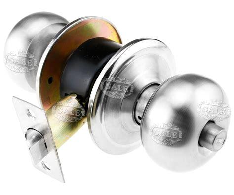 stainless steel door knobs handle lock set passage