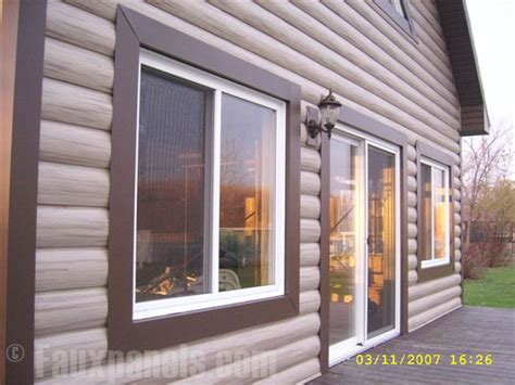 Log Cabin Style Siding by Vinyl Siding Pictures Diy Home Ideas Log Cabin Style
