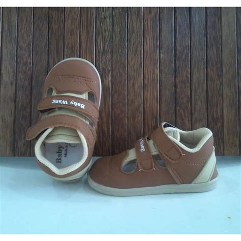 Walker Shoes Baby Wang Merry Brown sepatu anak baby wang banyak model elevenia