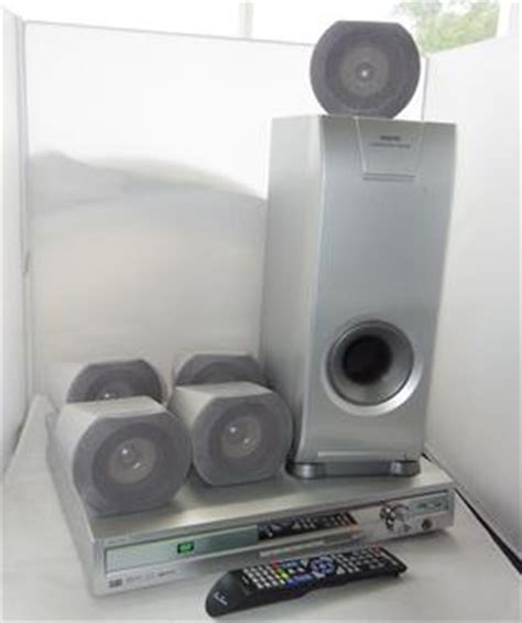 sanyo jcx ts750 dvd home theatre av receiver system with