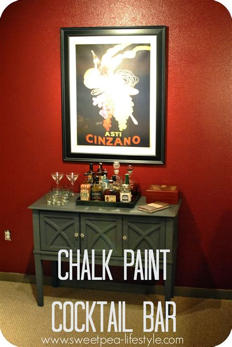 chalkboard paint ideas for bar sweetpea lifestyle sloan chalk paint cocktail bar