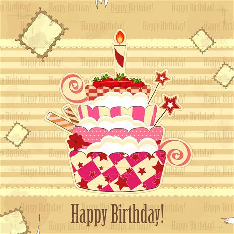 Picture Birthday Cards Birthday Cards Background Vector 1 Vector Sources