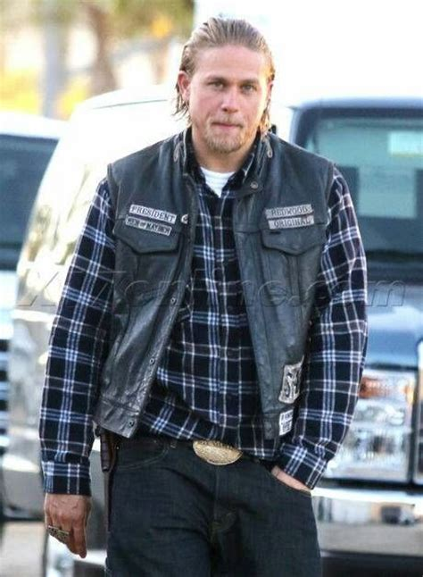 auction of jax tellers cut 15 best grimy outlaw men in plaid shirts images on