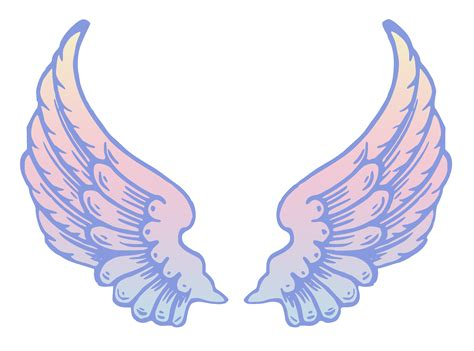 angel wings clipart clipground