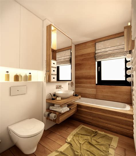 wood panel bathroom interior design ideas