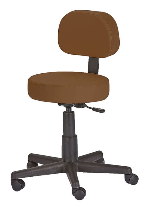 Stools With Back Support by Rolling Pneumatic Stool With Back Support Rolling Stools