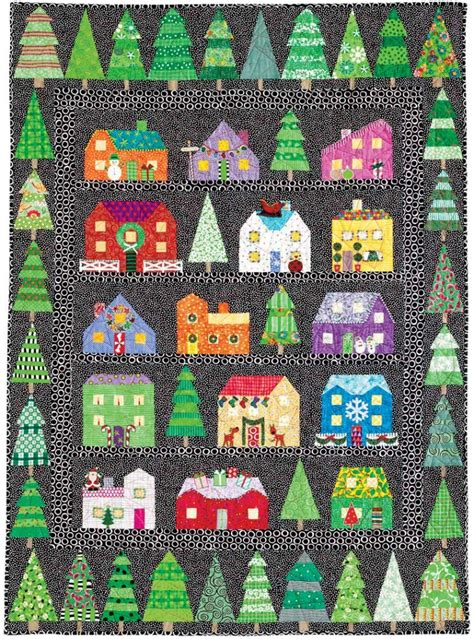 First Snow Christmas Series Quilt ? AllCrafts Free Crafts