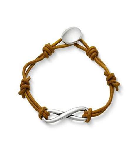 infinity bracelet avery infinity leather knot bracelet avery