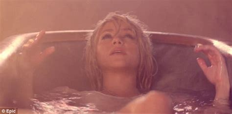 sex videos at bathroom shakira addicted to you music video singer gets hot and