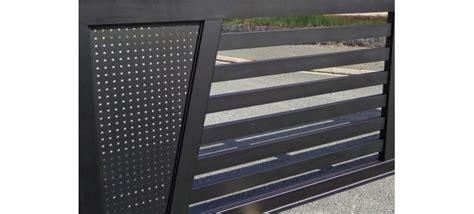 portail alu coulissant 545 portail coulissant aluminium mega design en t 244 le alu