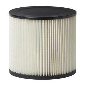 multi fit 6 5 in cartridge filter for shop vac and genie