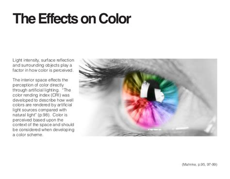 effects of color independent study the psychology of color in an interior