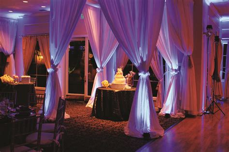 draping and lighting rentals pipe drape rental miami ft lauderdale south florida