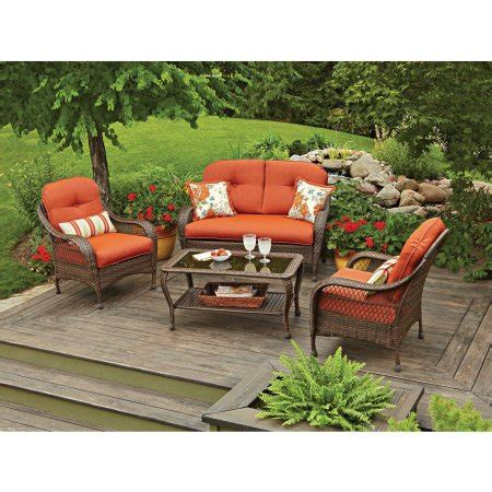better home and garden patio furniture better homes and gardens azalea ridge 4 patio