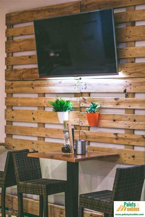 decoracion con palets de madera decoraci 243 n cafeter 237 a con palets palets y muebles