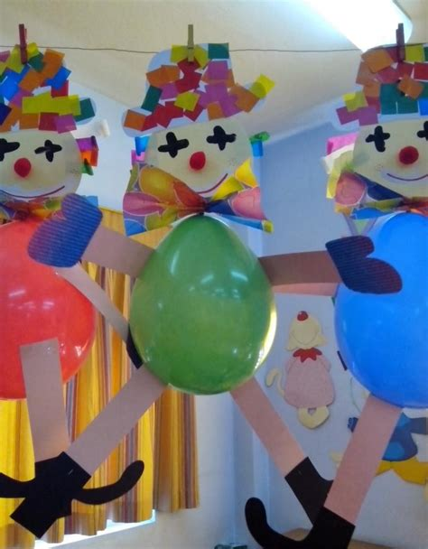 clown crafts for balloon clown craft 171 preschool and homeschool