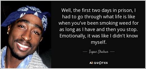 What Is It Like To Go Through An Mba by Tupac Shakur Quote Well The Two Days In Prison I