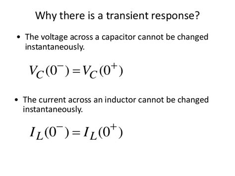 voltage across capacitor does not change instantaneously why current across inductor cannot change instantaneously 28 images chapter 30 inductance