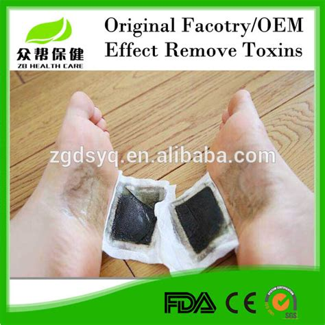 Detox Foot Patch by Thailand Lanna Foot Patch Gold Royal Detoxification Foot