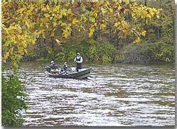 boat crash muskegon drift boats are popular with muskegon salmon anglers