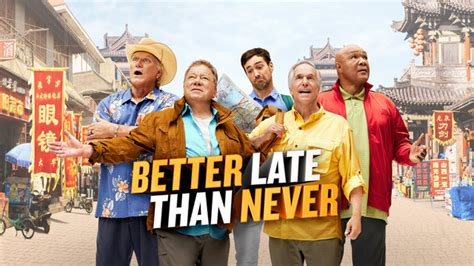 Globe Watcha Week Later Better Than Never better late than never episodes nbc