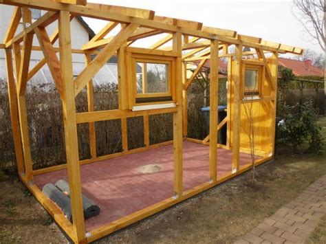 pavillon unterbau gartenhaus selber bauen kleingarten ideen