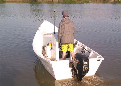 boat plans 160403 carolinian carolina dory recently completed - Carolinian Dory Boat Build
