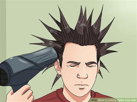 how to spike someones hair how to liberty spike your hair 12 steps with pictures