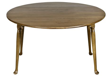 round dining room table with leaf 1960s drop leaf round dining room table omero home