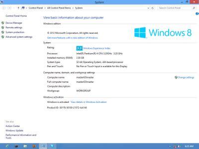 full version windows 8 screenshoot windows 8 profesional