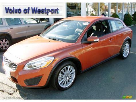 volvo c30 t5 r 2011 orange metallic volvo c30 t5 56874135